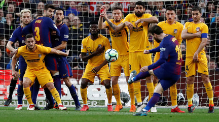 La Liga Santander - FC Barcelona vs Atletico Madrid