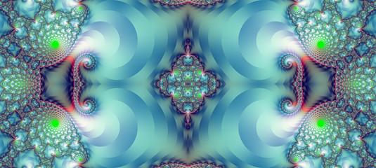 Fractal pattern. Illustration