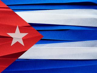 Cuba flag or banner