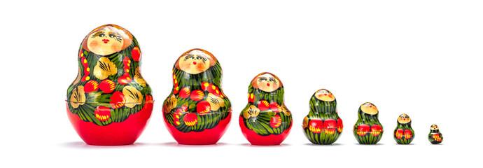 Russische Matrjoschka Puppe