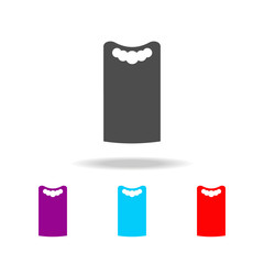 dress shift icon. Elements of clothes in multi colored icons for mobile concept and web apps. Icons for website design and development, app development