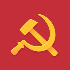 USSR hammer and sickle
