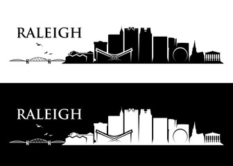 Raleigh skyline - North Carolina