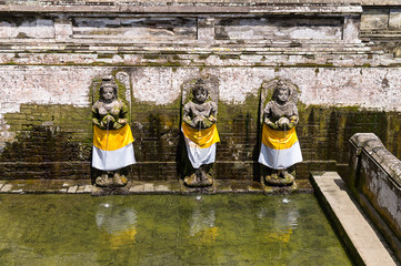 Bathing Temple at Goa Gajah, Bali, Indonesia