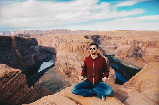 Meditation in the desert