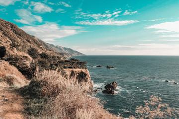 Road trip through Highway One in California - Big Sur