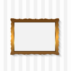 Picture Frame Golden