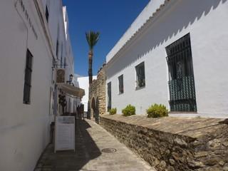 Vejer de la frontera, pueblo del sur de España en Cadiz, Andalucia