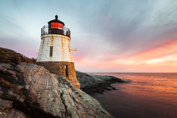 Castle Hill Lighthouse Newport Rhode Island Wall mural