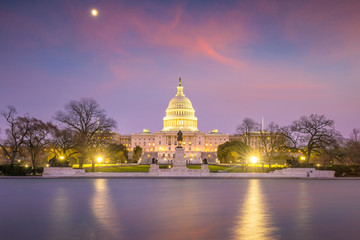Fototapete - The United States Capitol building DC