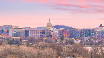 Washington, D.C. city skyline