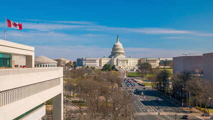 Wall Mural - The United States Capitol building DC