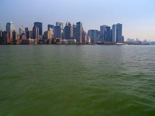 Lower Manhattan Island from Upper New York Bay