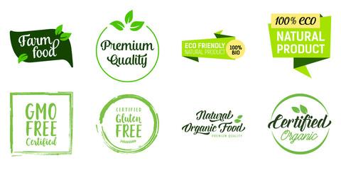 Natural Food Lettering Set