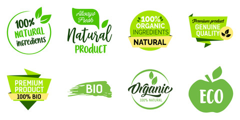 Natural Product Lettering Set