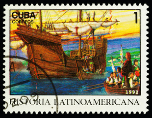 Columbus' ship in Palos