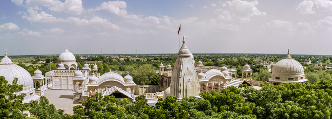 jain temple of jaisalmer in rajasthan state in india