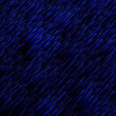 Abstract technology blue light lazer lines diagonally pattern on dark background.