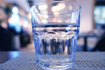 glass restaurant table wine serving;