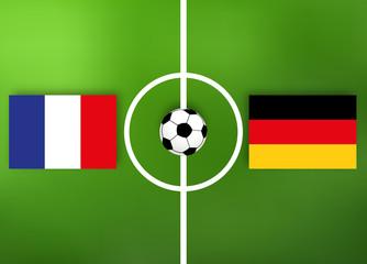 Deutschland VS Frankreich - Fußball