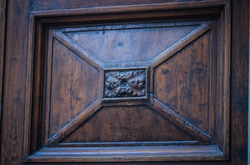 ancient doors - close up view
