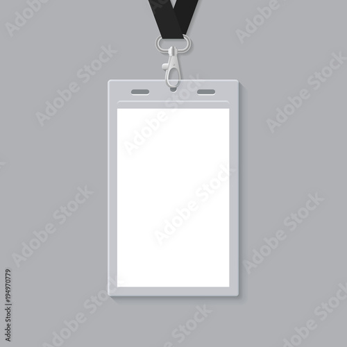 Blank Id Card Template Stock Image And RoyaltyFree Vector Files On