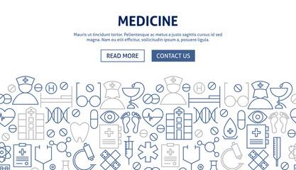 Medicine Banner Design