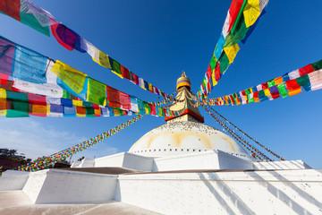 Wall Murals Nepal Bodnath Stupa, Kathmandu, Nepal