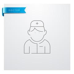 icône Médecine - Santé - Médical - Docteur - Chirurgien