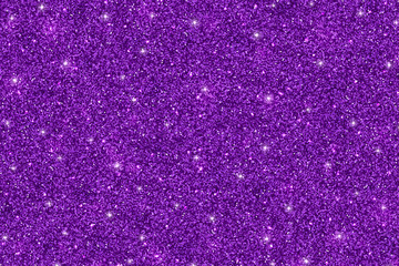 Purple background, shiny glitter texture