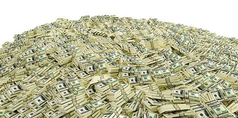 Millions of Dollars - 3D Rendering