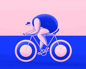 Female athletes Cycling