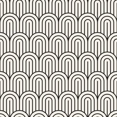 Vector seamless pattern. Modern stylish abstract texture. Repeating geometric tiles..