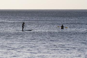 kayaking and paddle boarding