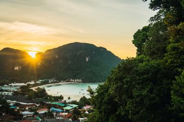 Maya Bay in Koh Phi Phi, Thailand