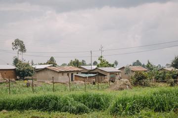 village in Rwanda, Africa