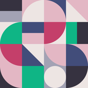 Abstract Geometry Pattern Graphic 01