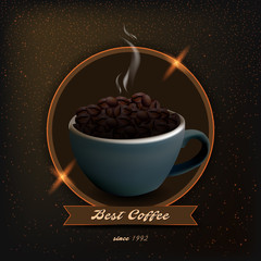 coffee product illustration
