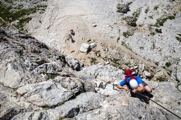 Via Cesare Piazzeta - Dolomites, Italy