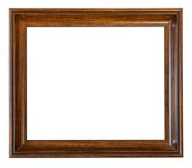 brown wooden empty frame