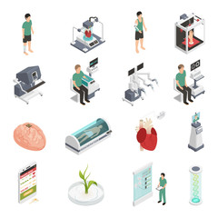 Medicine Future Technology Icons