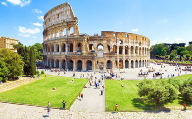 Photo sur Aluminium Rome Colosseum Rome