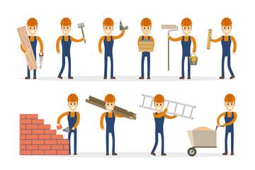 Man builder set.