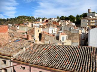 Vista del Pueblo Vila-rodona