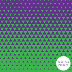 Triangle geometric halftone pattern