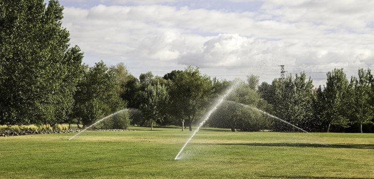 Water sprinkler park