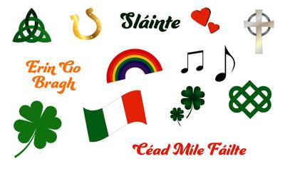 Irish Celtic Symbol Vector Pack