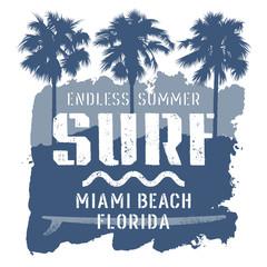 Surfing print 011