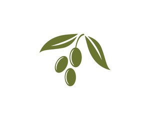 olive logo template
