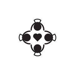 friendship icon. Detailed icon of friendship and relationships icon. Premium quality graphic design. One of the collection icon for websites, web design, mobile app